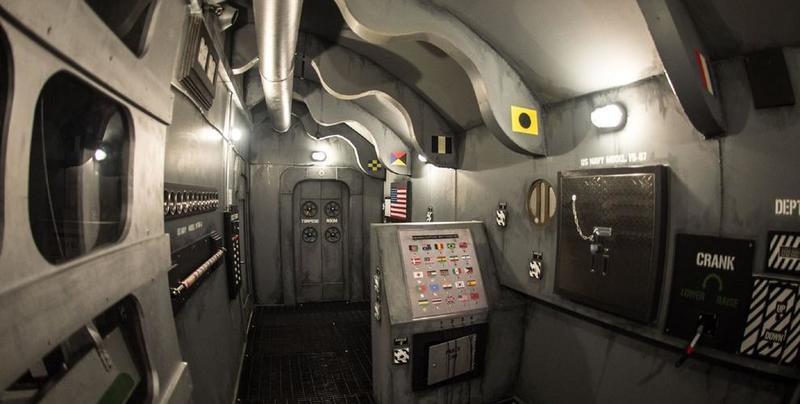 Spaceship escape room in Canada