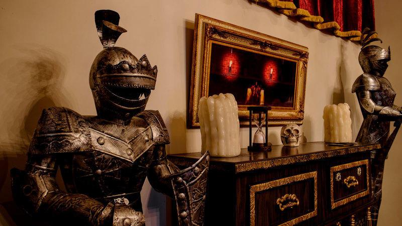 Castle escape quest interior.