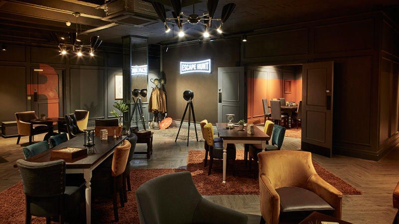 This escape room looks so good it's hard to believe it's not for sale. But you'll need to find the exit out of these interiors, and fast – or you'll lose the game!