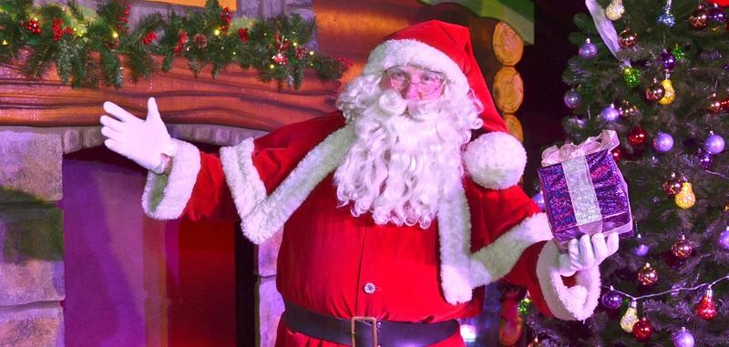 Santa Claus invites everybody to join Christmas Escape adventure