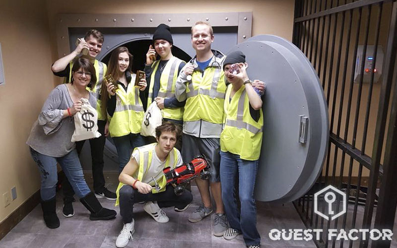 Quest Factor is the best place for team building