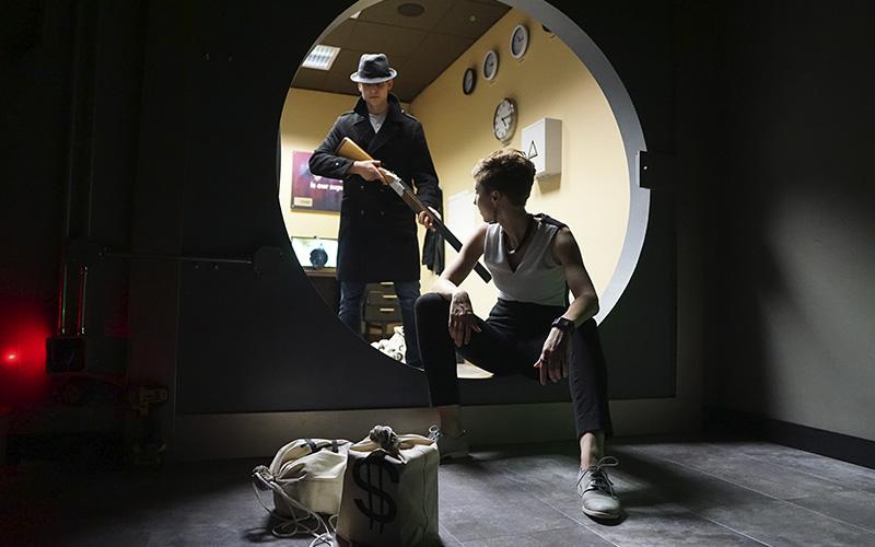 Bank heist - escape room in Seattle